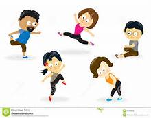 exercise-class-cartoon